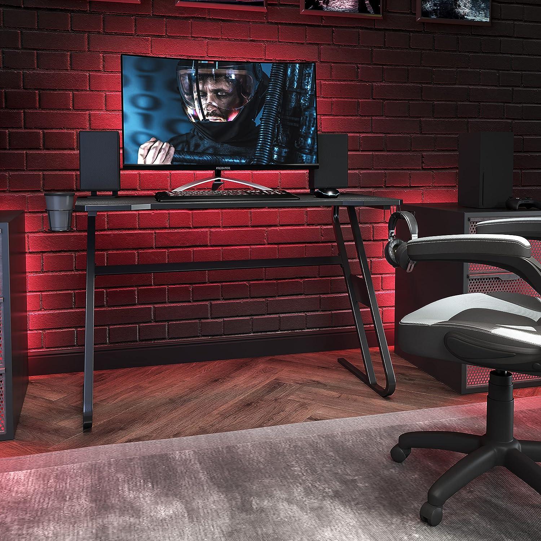 Flash Furniture Gaming Desk - Black Ergonomic Computer Desk - 51.5