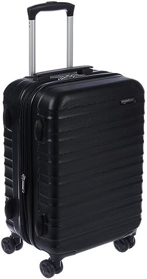 Merveilleux Amazon.com: AmazonBasics Hardside Spinner Luggage   20 Inch Carry On/Cabin  Size, Black