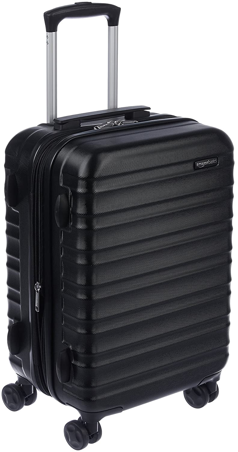 AmazonBasics Hardside Spinner Luggage - 20-Inch, Carry-On