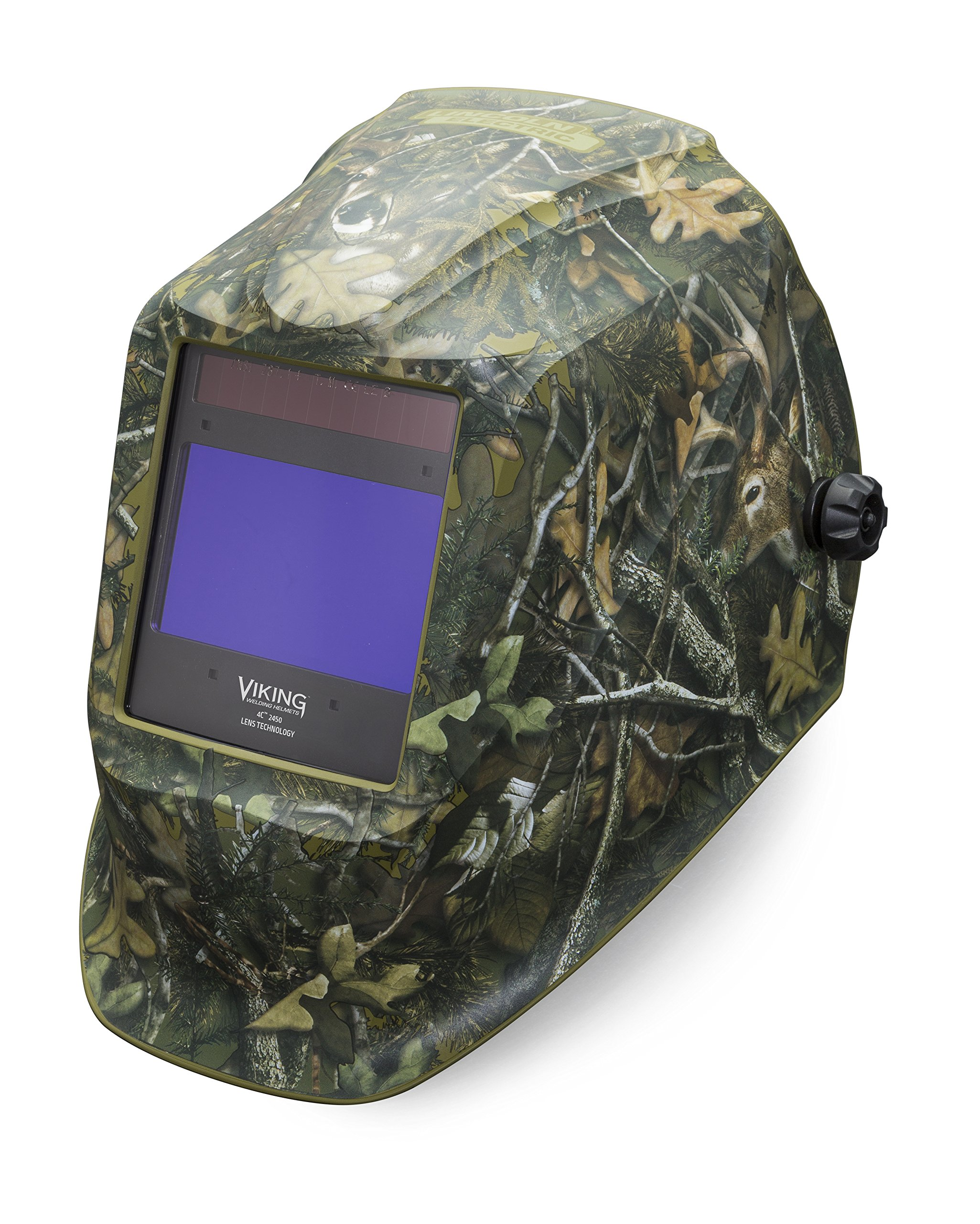 Lincoln Electric VIKING 2450 White Tail Camo Welding Helmet with 4C Lens Technology - K4411-3