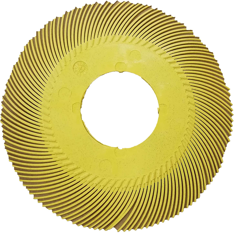 Scotch-Brite Radial Bristle Brush (Nachfüllpackung) BB-ZB, 150 mm, P80 Typ C Refill 8 Blätter