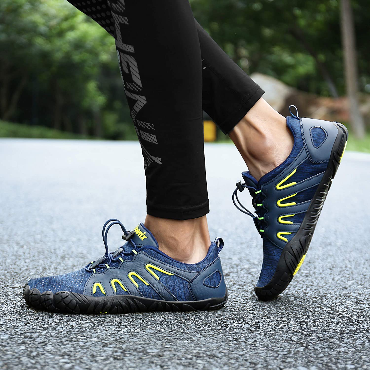 Voovix Mens Barefoot Shoes Athletic Trail Running Shoes Womens Outdoor  Walking Shoes for Hiking Cross Training Sports & Outdoors Exercise & Fitness