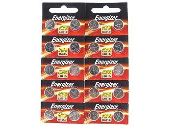 20 Energizer LR44 / AG13 / A76 Pack de 10 pilas x 2 ...