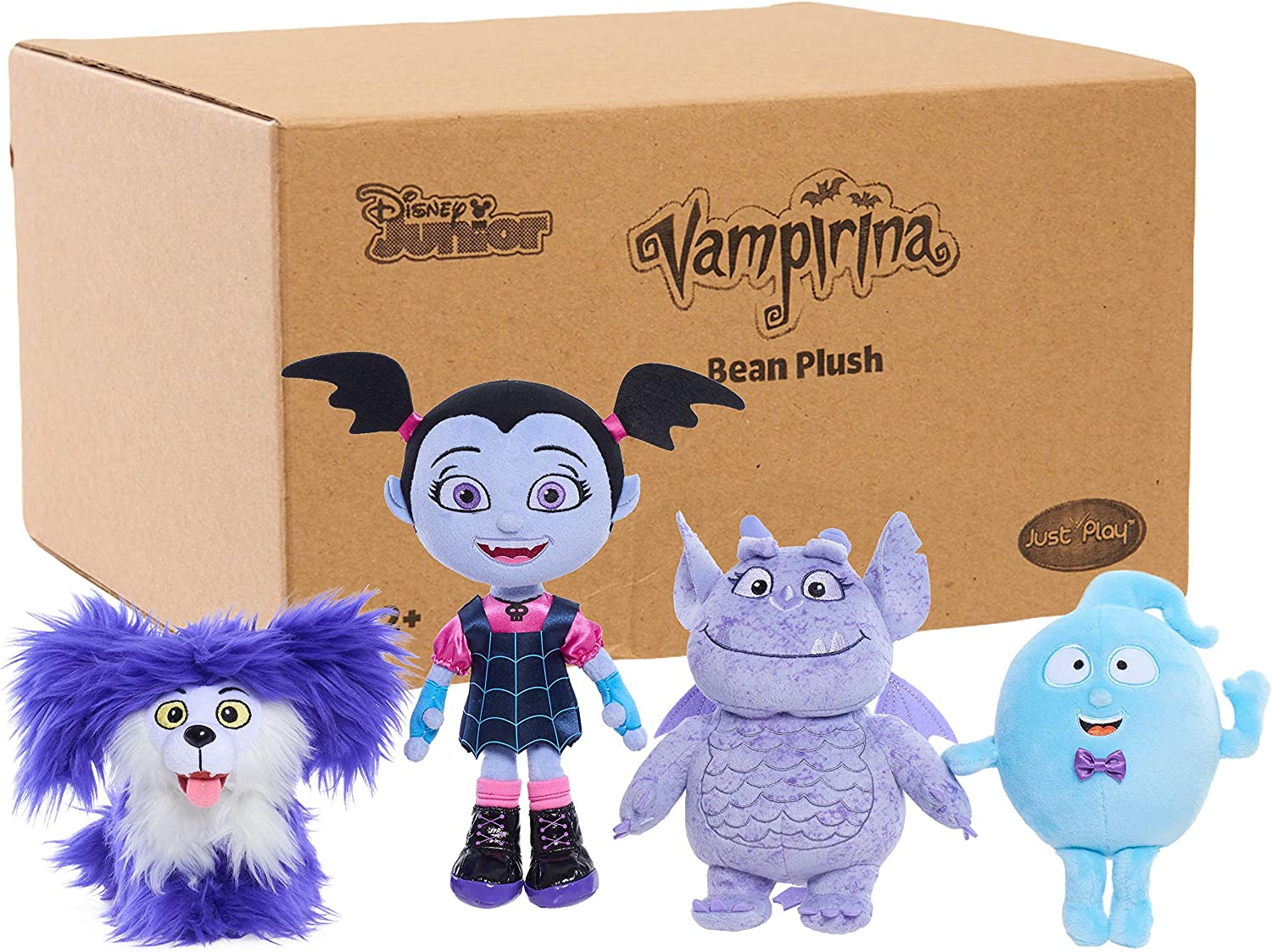 Vampirina Collector 4 Pack Bean Plush Dolls