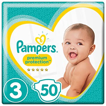 Pampers Premium Protection Taille 3 50 Couches 6kg 10kg Amazonfr