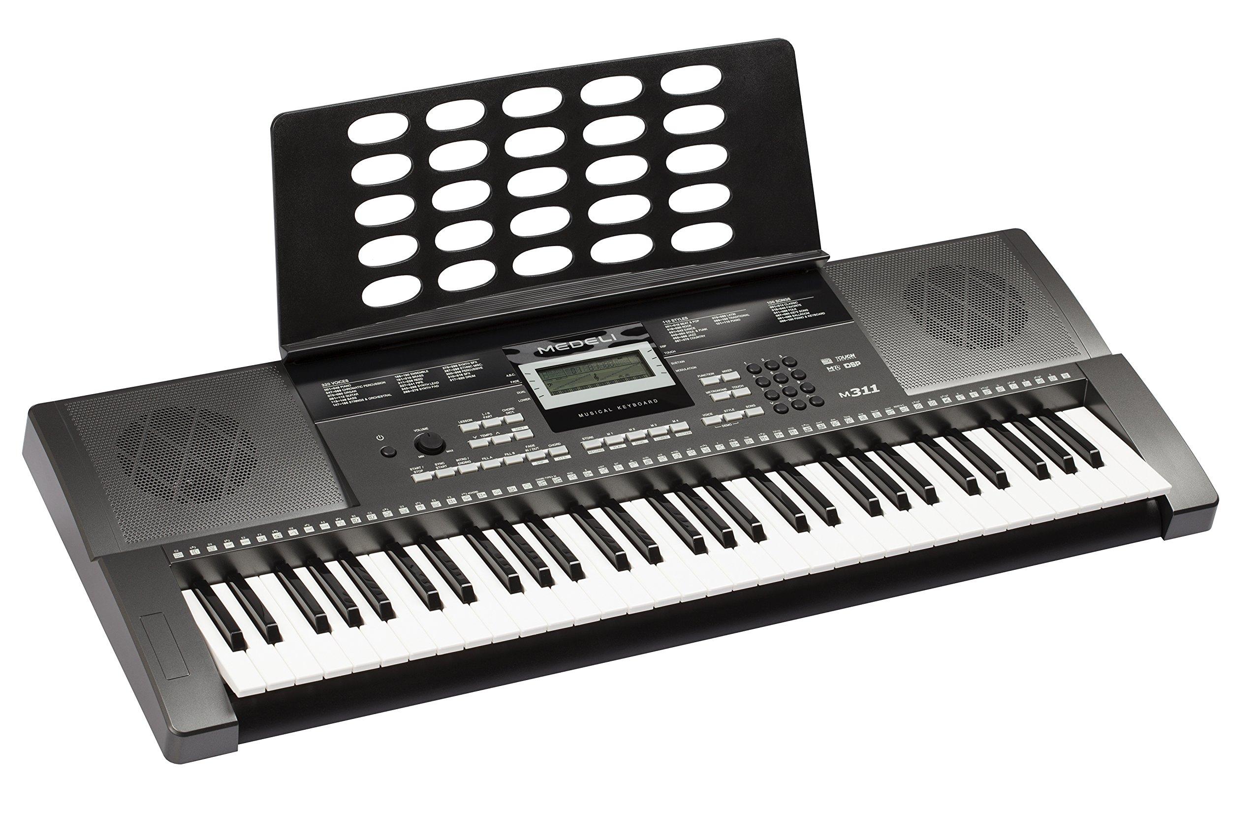 Medeli M311 Electronic Keyboard by Medeli (Image #3)