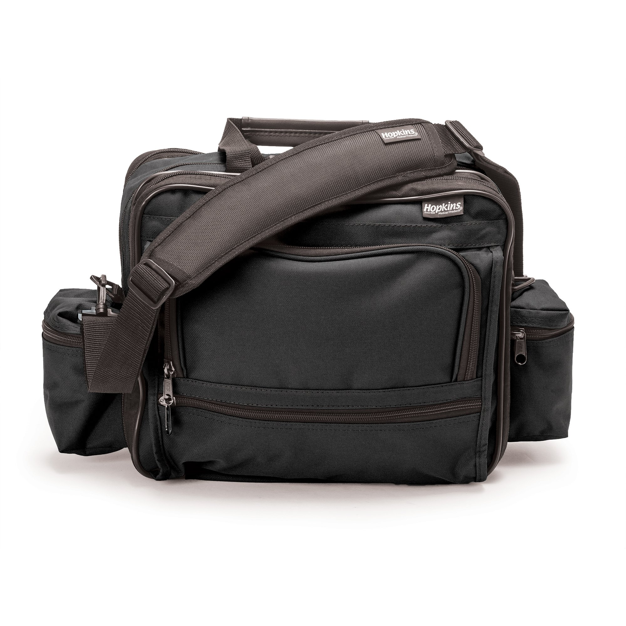 Hopkins Medical Products Mark V Shoulder Bag for Nurses and Home Health Professionals - Black