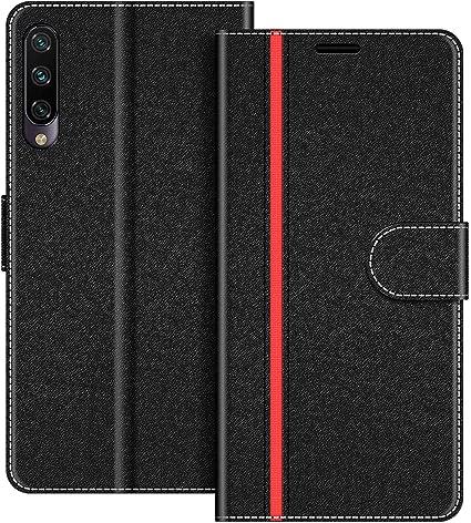 COODIO Funda Xiaomi Mi A3 con Tapa, Funda Movil Xiaomi Mi A3 ...