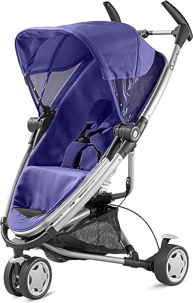 Opinión sobre Quinny 72906760 Zapp Xtra - Silla de paseo con posición de reposo, cesto de la compra, capota, protector para la lluvia, pinza para sombrilla y adaptador para capazo morado morado (purple pace)