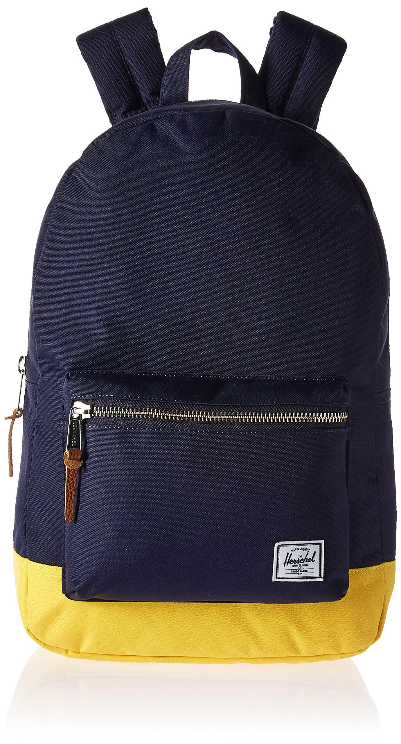 Herschel Supply Co. Settlement Backpack, Peacoat/Cyber Yellow