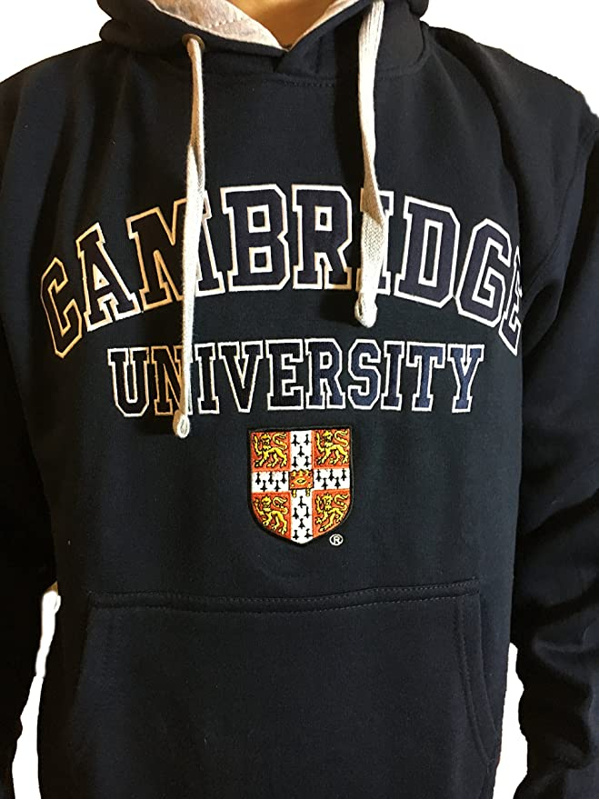 Amazon.com: Official Cambridge University Hoody - Navy - Official Apparel of the Famous Univeristy of Cambridge: Clothing