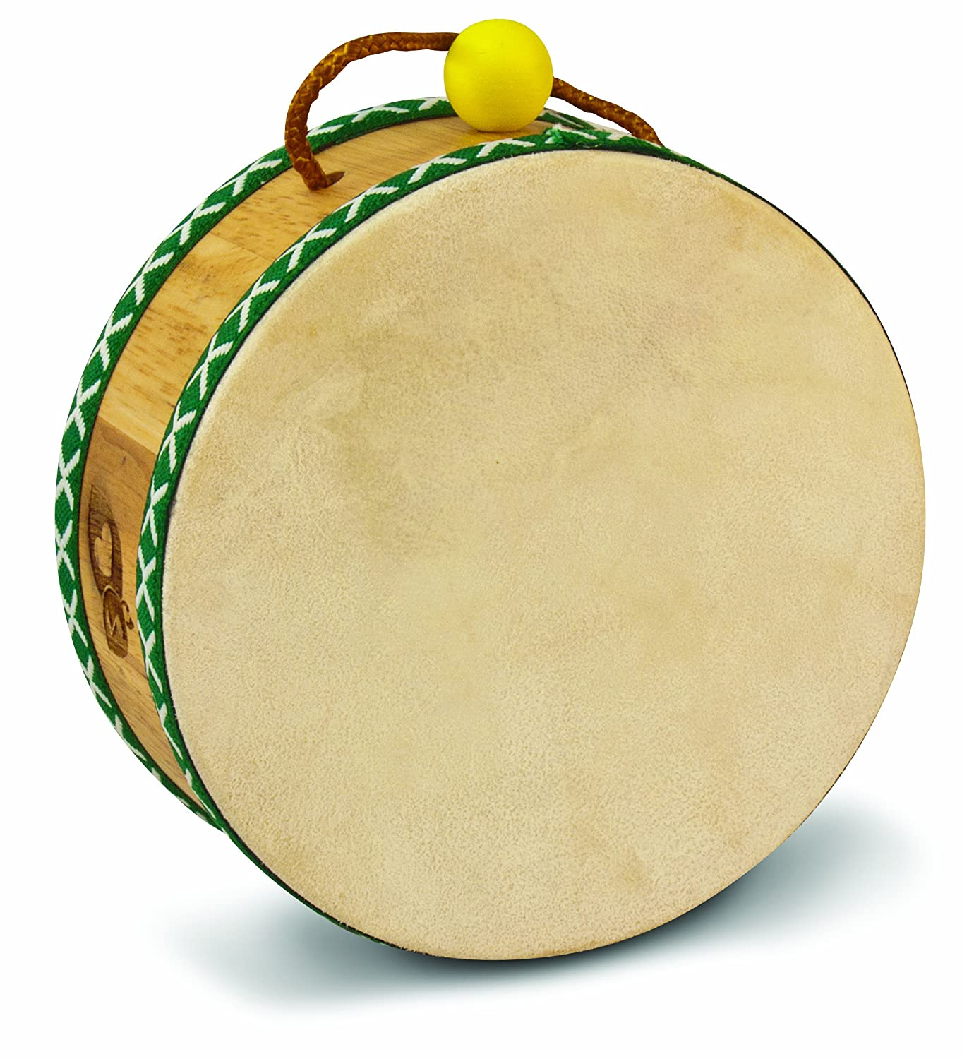 Amazon.com: Green Tones Tom Tom Drum with Mallet: Musical Instruments