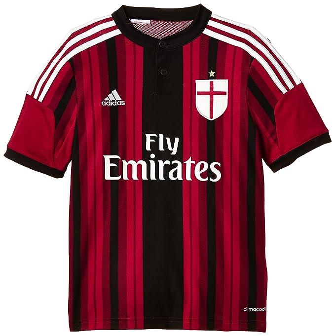AC MILAN Adidas Camiseta de equipación de fútbol para hombre ...