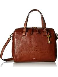 09ff5e2e3d Fossil Rachel Satchel Handbag, Medium Brown