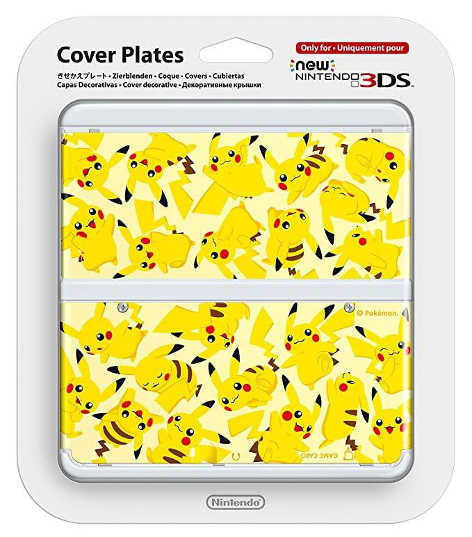 Nintendo - Cubierta Pikachu (New Nintendo 3DS): Amazon.es ...