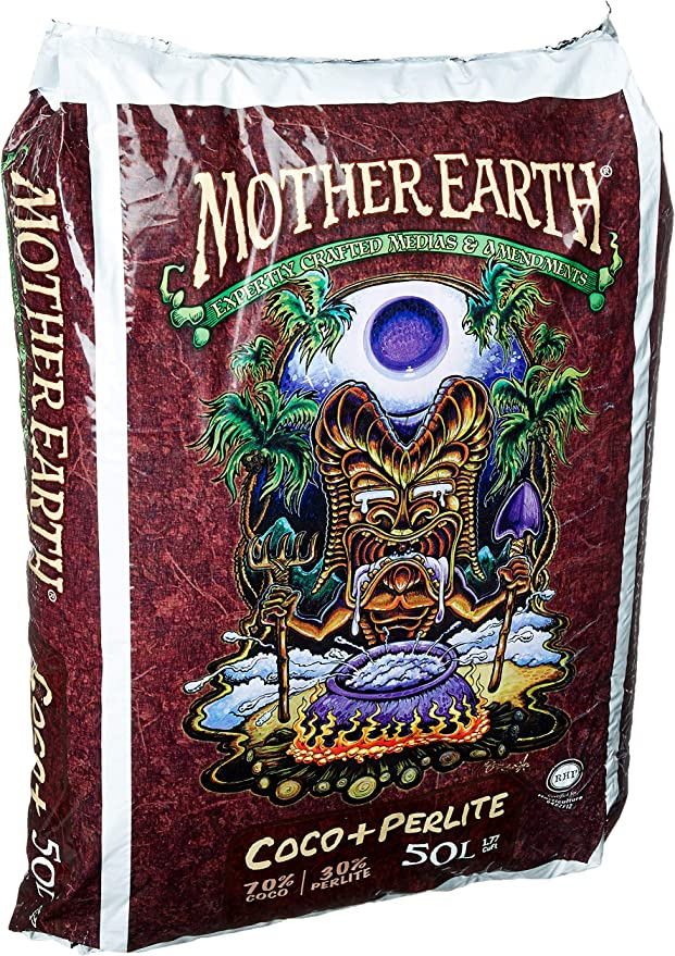 Mother Earth HGC714837 Perlite Mix For Indoor and Outdoor Use - Balanced Soil Mix