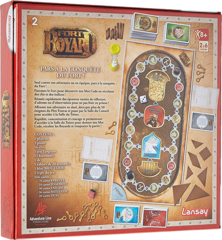 Lansay Fort Boyard 75027 Amazon Fr Jeux Et Jouets