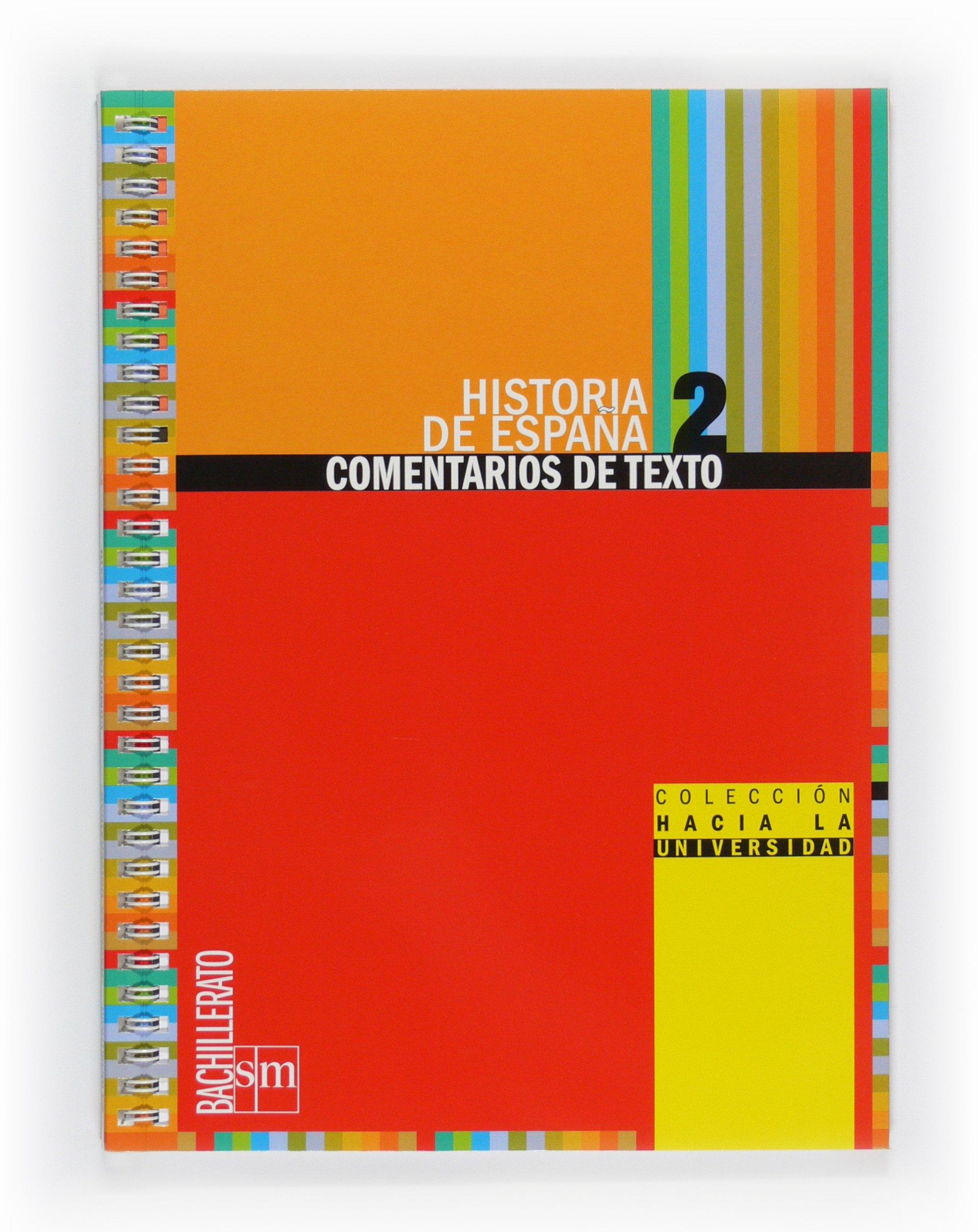Historia de España: Comentarios de texto. 2 Bachillerato - 9788467539790: Amazon.es: Agulló Toledo, Eduardo: Libros