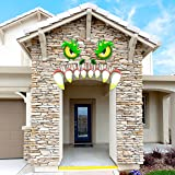 JOYIN Monster Face Halloween Archway Garage Door