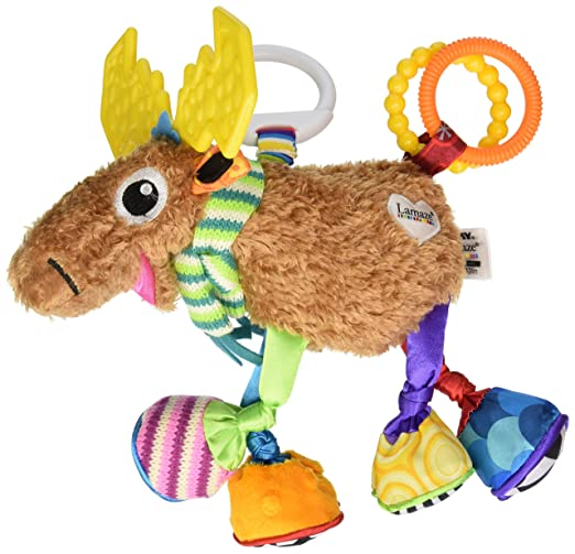 Best Stroller Accessories: Lamaze Clip & Go Moose Mortimer