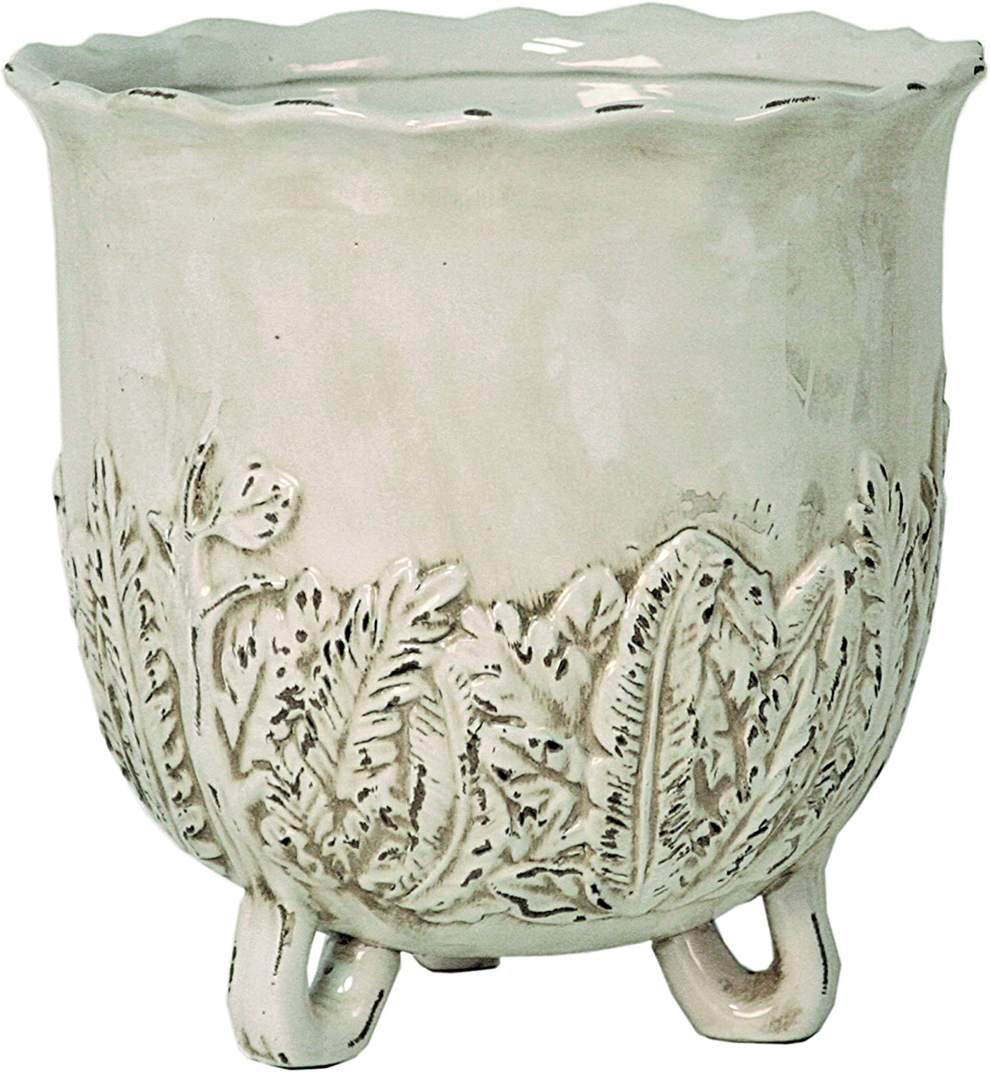 Selectives Ivory Planter, 10 , Off Off White
