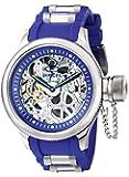 Invicta 1089 - Reloj analógico de caballero manual con correa de goma azul