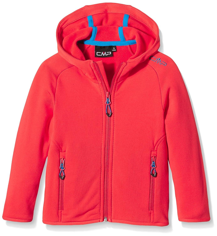 CMP - Chaqueta polar para niño, todo el año, niño, color coral, tamaño 4 años (104 cm) 3E65644