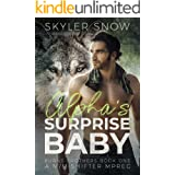 Alpha's Surprise Baby: A M/M Shifter MPREG (Burns Brothers Book 1)