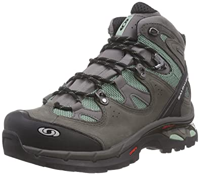 Salomon Women's Comet 3D Lady GTX Backpacking Boot, Lichen  Green/Autobahn/Lichen Green