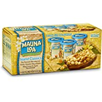 Mauna Loa Premium Hawaiian Roasted Macadamia Nuts, Island Classic Variety Pack, 4 Oz Cups (Pack of 3)