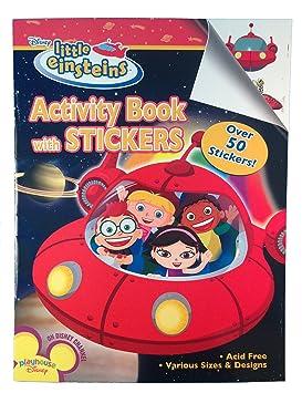 W Stickers1ctBy Book Bendon Little Einsteins Activity 9IHEDYW2