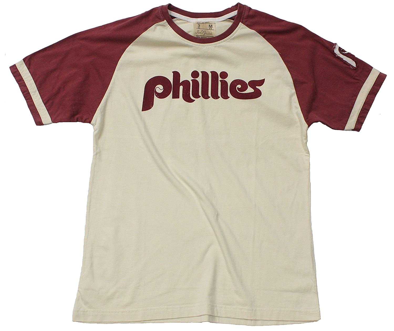 Philadelphia Phillies Retro Jersey Replica T-Shirt By Red Jacket (SM  Apparel)  bfadea3f7a6