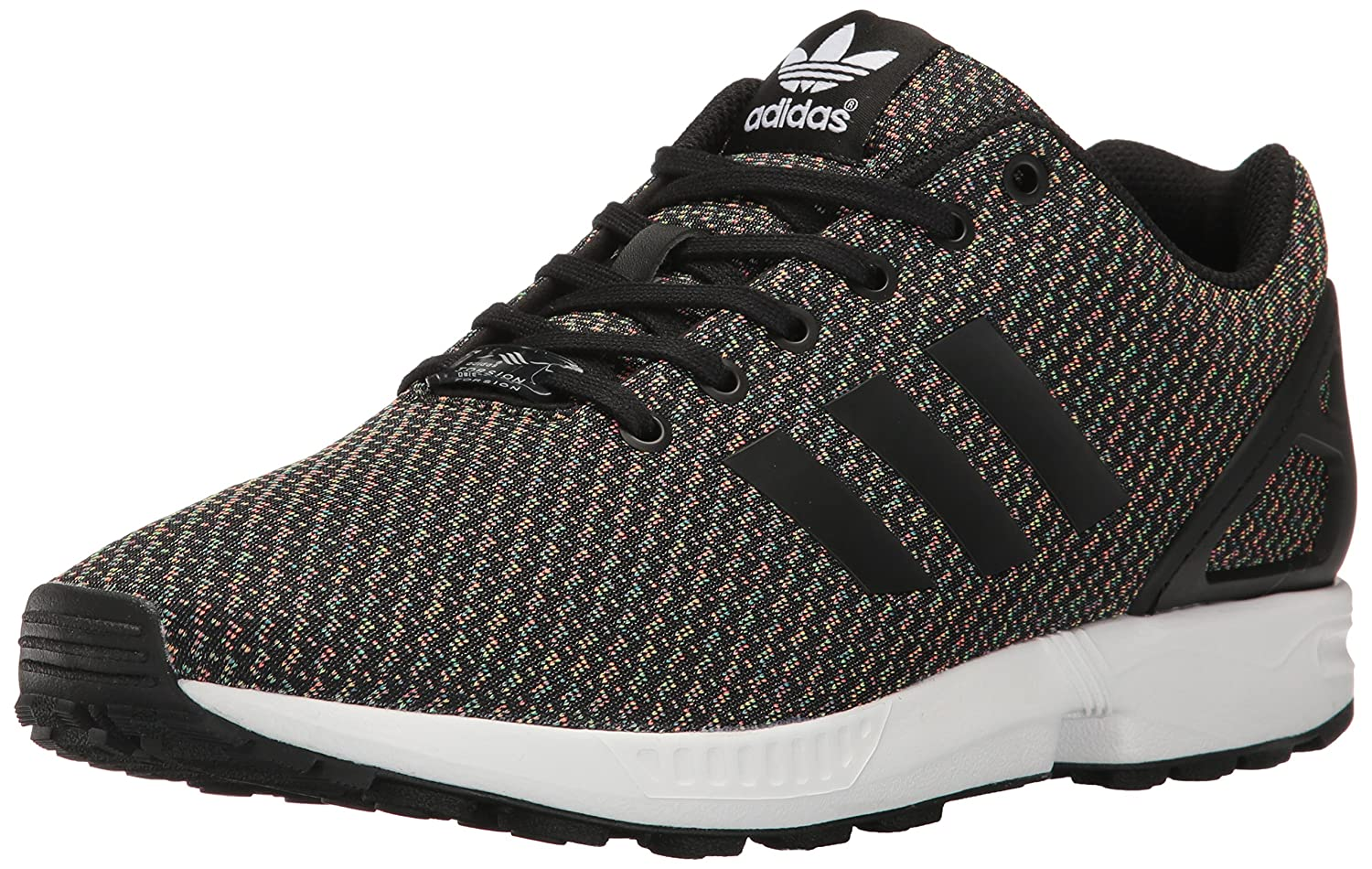 adidas Originals Men's ZX Flux Fashion Sneaker B01LYYQGM8 8 D(M) US|Black/Black/Black