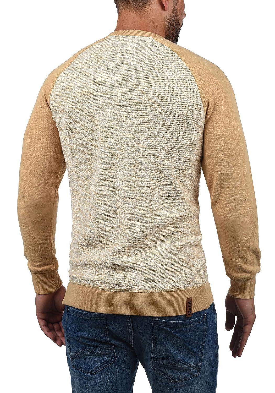 bdaabc9af552 !Solid Flocker Herren Sweatshirt Pullover Flocksweat Pulli Mit  Rundhalsausschnitt Aus 100 % Baumwolle