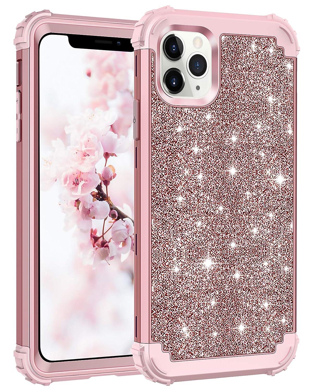 Funda Protectora Para iPhone 11 Pro Max - Glitter Rosa (xsr)