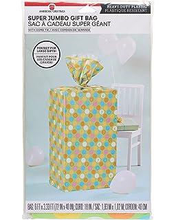 American Greetings Plastic Gift Bag Multi Colored