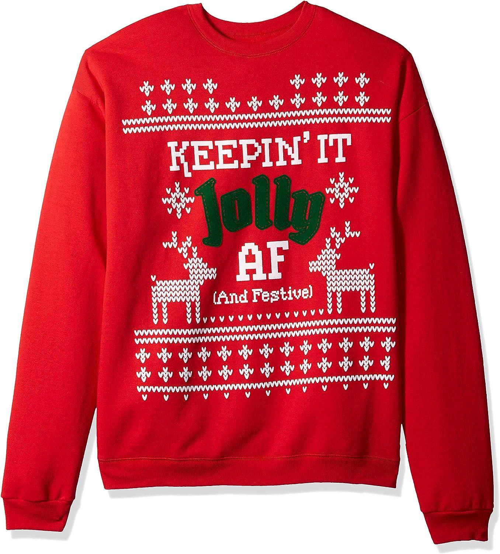 Hanes Womens Womens Ugly Christmas Sweatshirt Sweatshirt