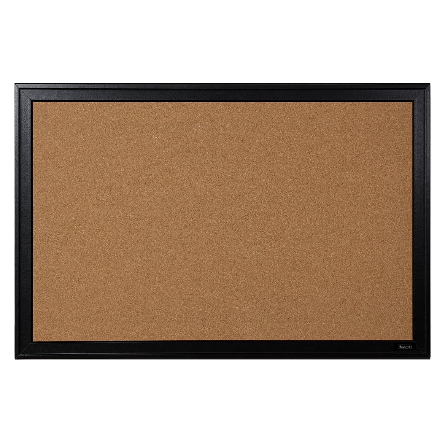 Quartet Bulletin Board, Cork, 24x36, Black Frame (13769) 24x36 ACCO Brands