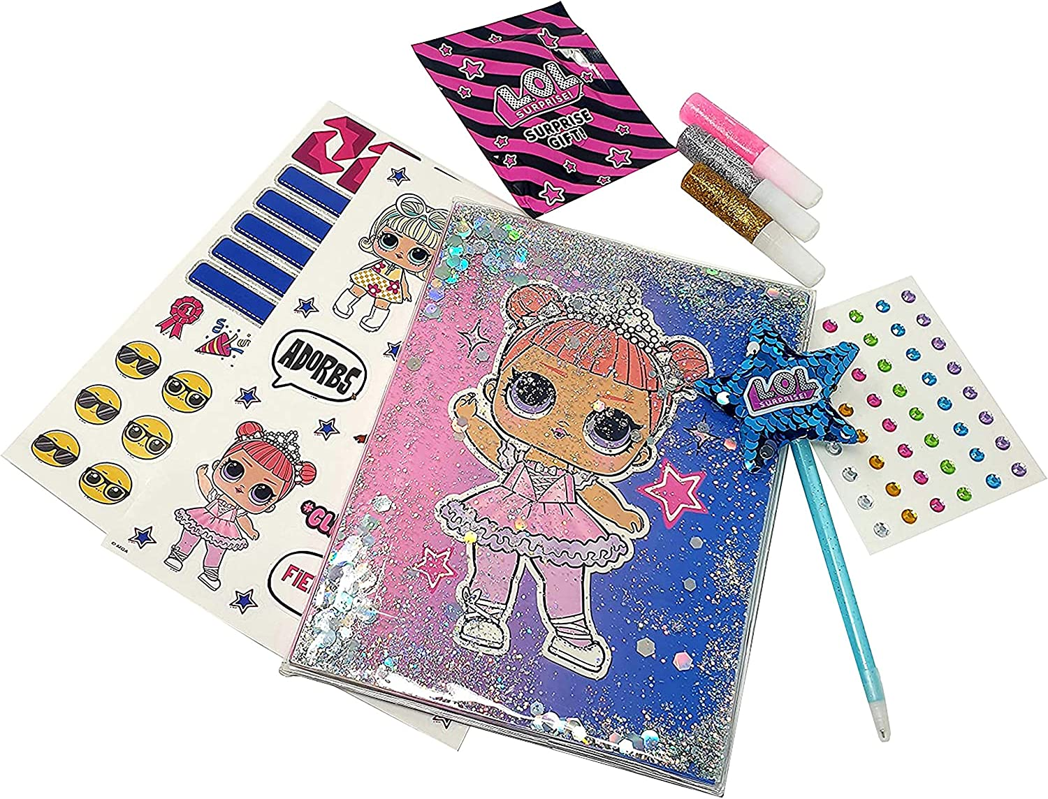 48 Page with Accessories Sequin or 3D Notebook Create Your Own Notebook