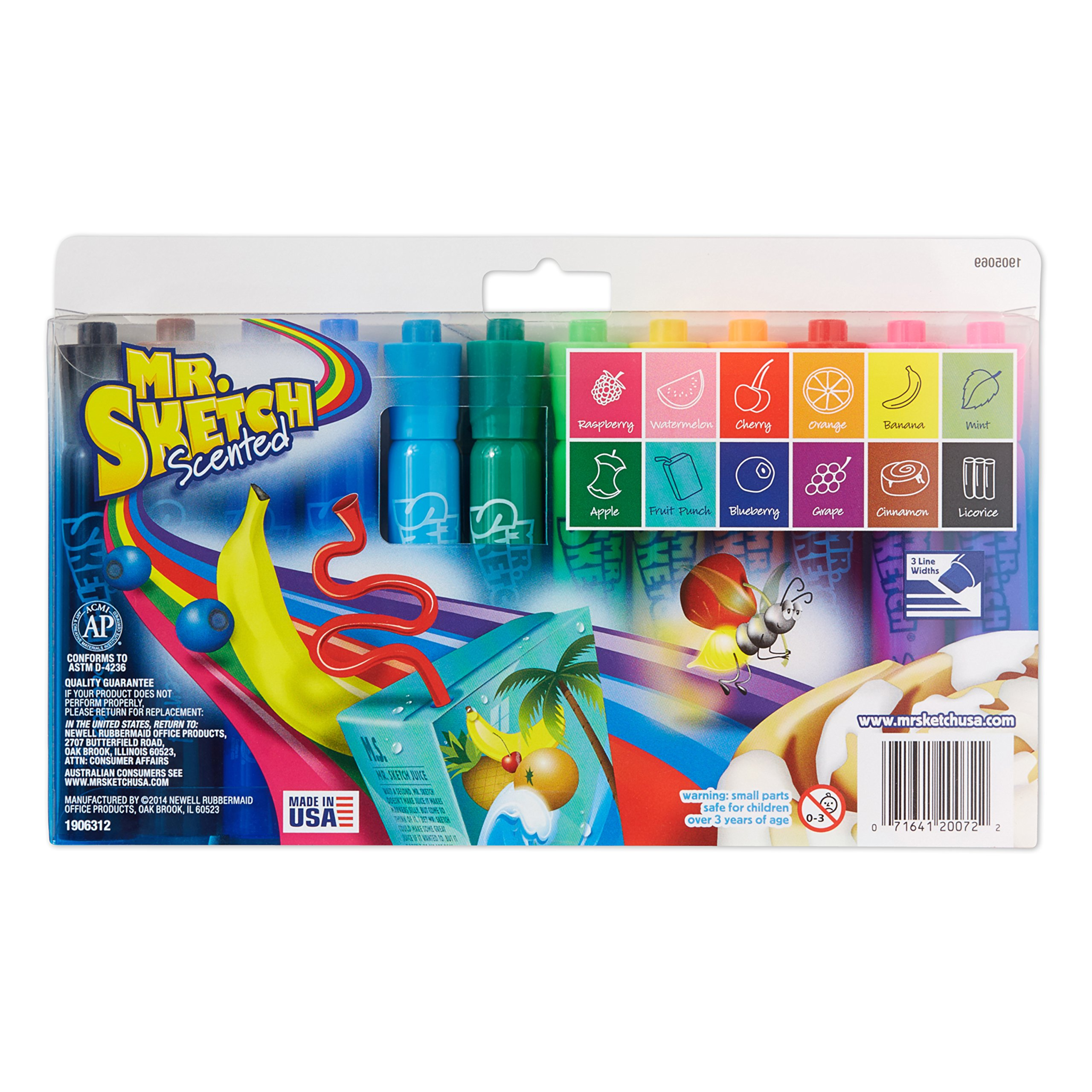 Mr. Sketch Pocket Style Highlighters, Chisel Tip, Assorted Fluorescent,12 Count, Packaging may vary by Mr. Sketch (Image #2)