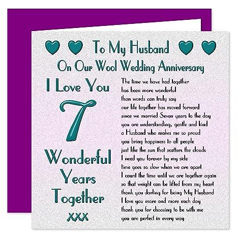 Auguri Anniversario Matrimonio 7 Anni.My Marito Anniversario Di Matrimonio On Our Anniversary Lana