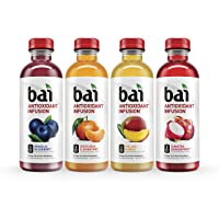 Deals on Bai Flavored Water 18 Fluid Ounce Bottles 12 count