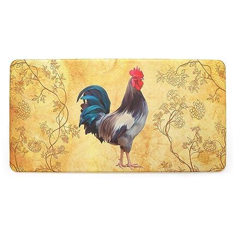 Stephan Roberts STRB-15793-10 Anti-Fatigue kitchen mat, 20\'\' x 39\'\',  Harvest Rooster