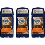 Tom's of Maine Long-Lasting Aluminum-Free Natural Deodorant for Men, Deep Forest, 2.8 oz. 3-Pack