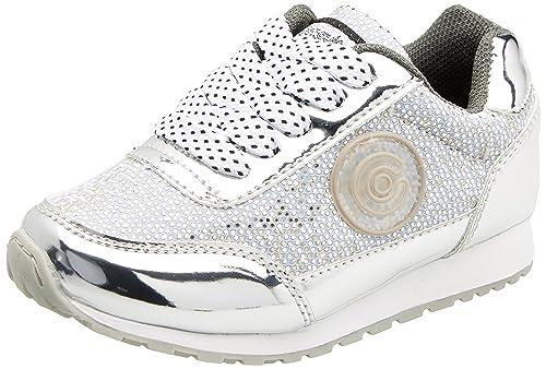 Conguitos HV127316, Zapatillas para Niñas, Plateado (Glitter Plata), 27 EU: Amazon.es: Zapatos y complementos