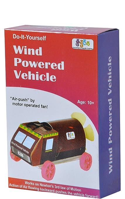 Buy kutuhal wind powered vehicle car air push car do it yourself kutuhal wind powered vehicle car air push car do it yourself kit solutioingenieria Choice Image
