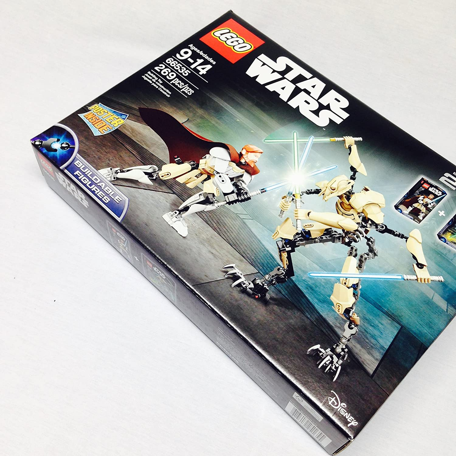 LEGO Star Wars 66535 Obi-Wan Kenobi vs. General Grievous Battle Pack