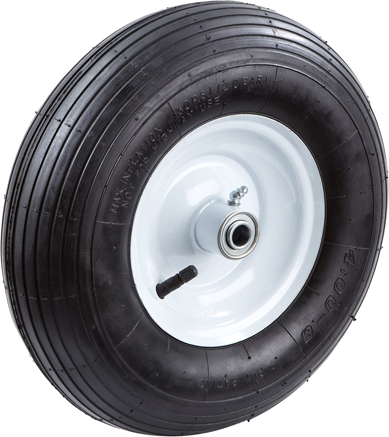 Tricam Farm and Ranch FR2200 Pneumatic Replacement Tire for Wheelbarrows and Utility Carts, 13-Inch