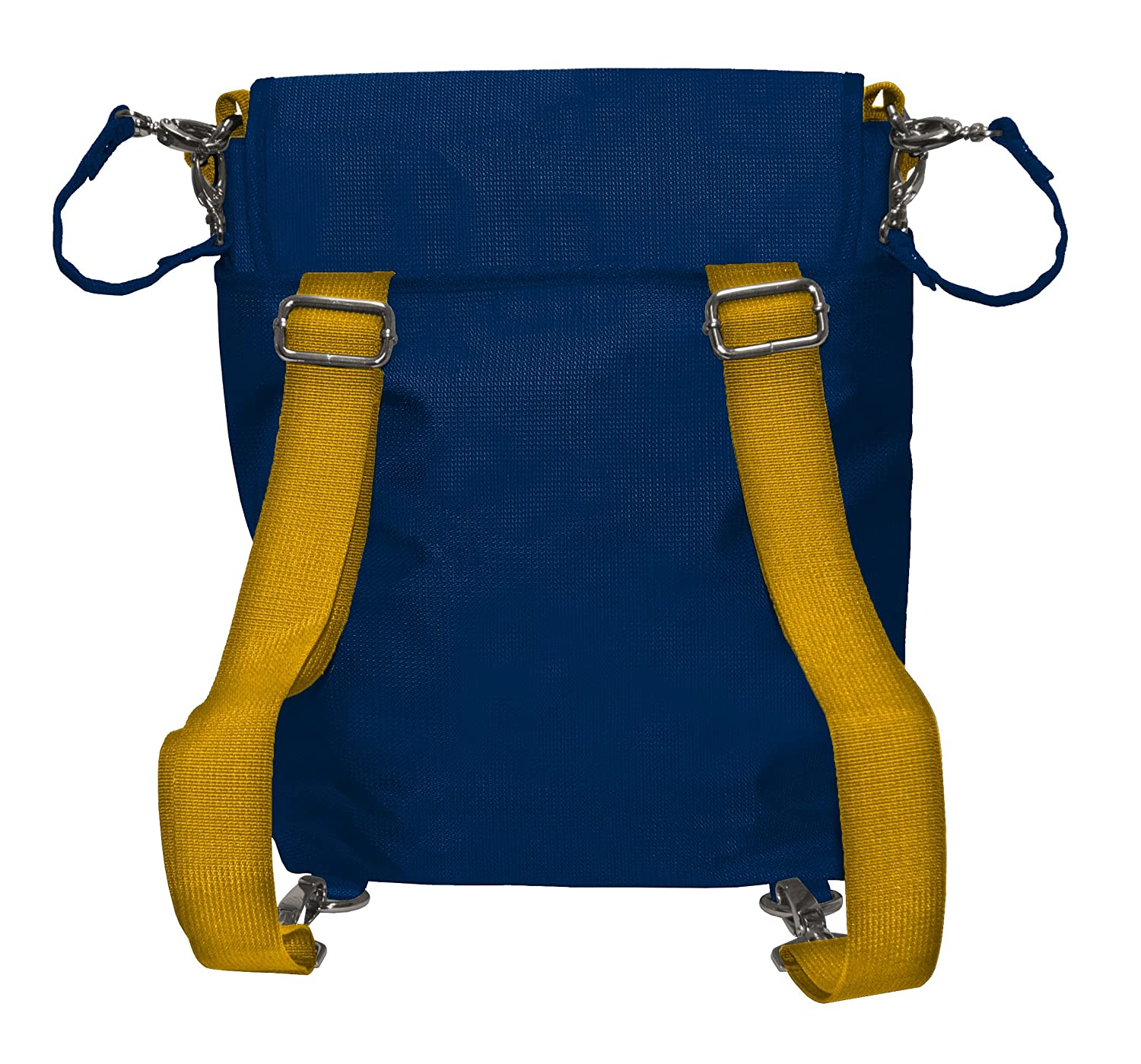 Wild Sports NCAA College West Virginia Mountaineers Messenger Diaper Bag 13.25 x 12.25 x 5.75-Inch Blue