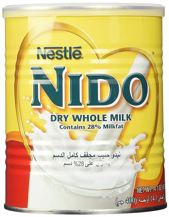 Nestle Nido Instant Milk Powder (Europe) 400g: Amazon.es: Alimentación y bebidas